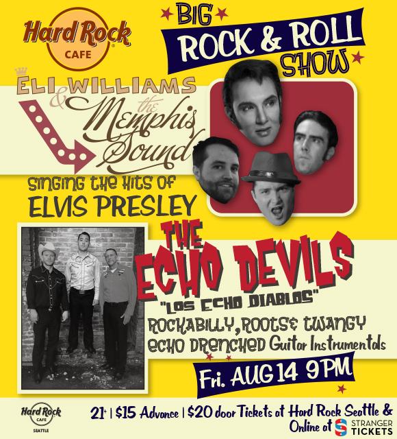 Big Rock Amp Roll Show Eli Williams Amp The Memphis Sound