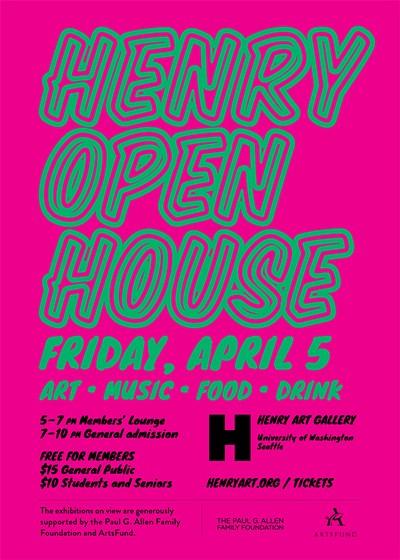 Henry Open House Tickets | Henry Art Gallery | Seattle, WA
