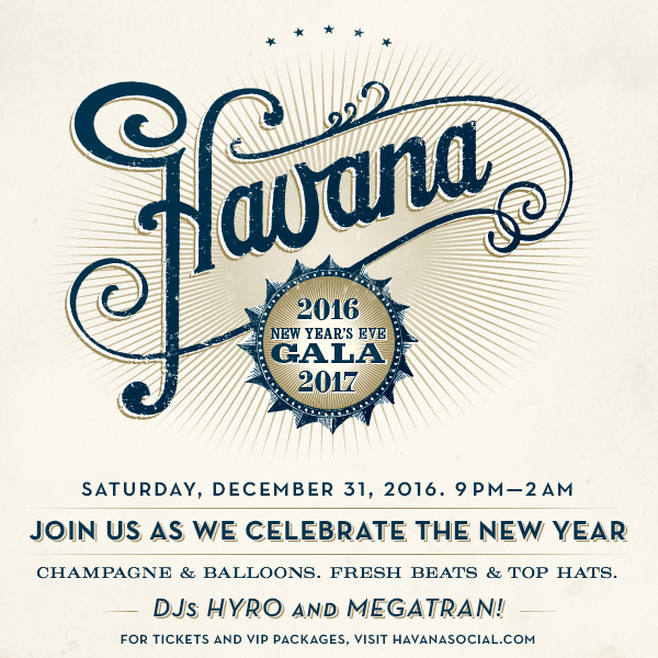 new years eve gala at havana tickets havana seattle wa sat dec 31 2016 at 830pm stranger tickets