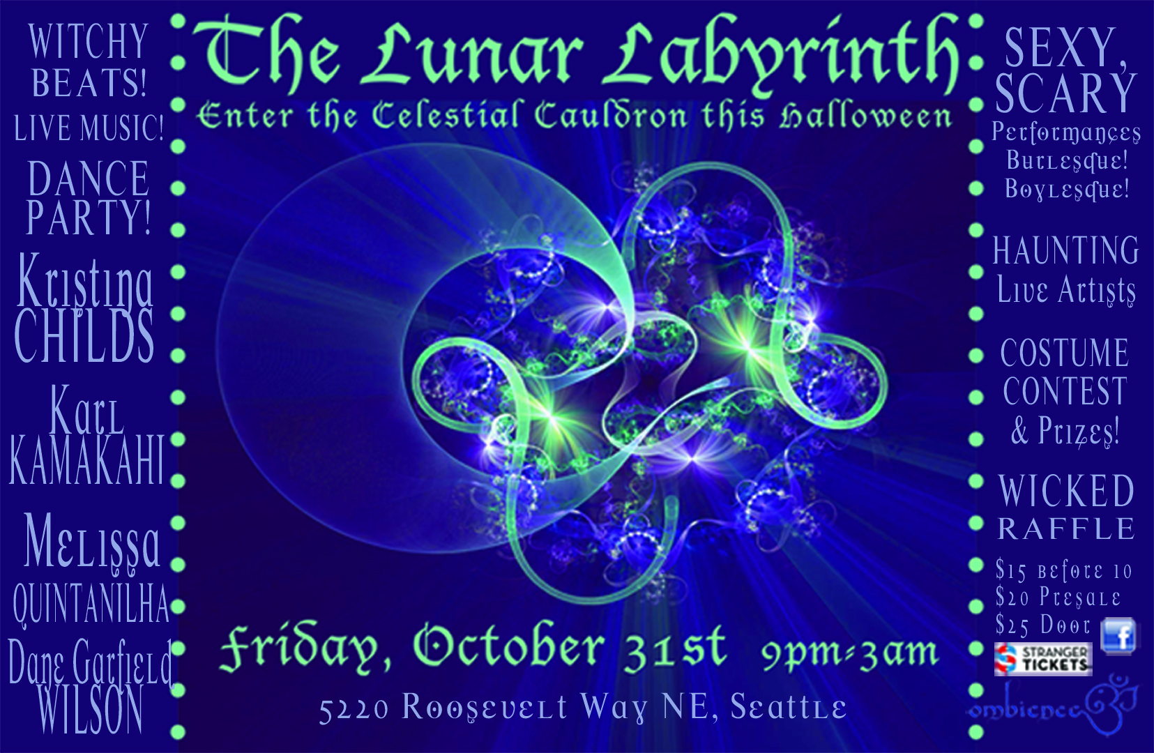 the lunar labyrinth : journey into the celestial cauldron this