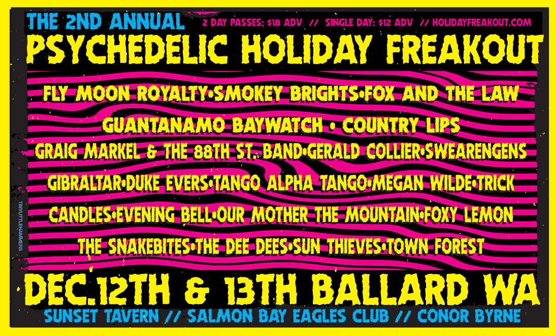 The 2nd Annual Psychedelic Holiday Freakout Tickets | Sunset