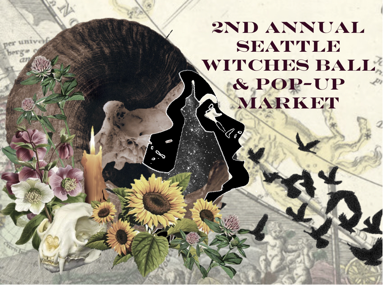 Seattle's 2nd Annual Witches Ball & Pop-Up Market Tickets