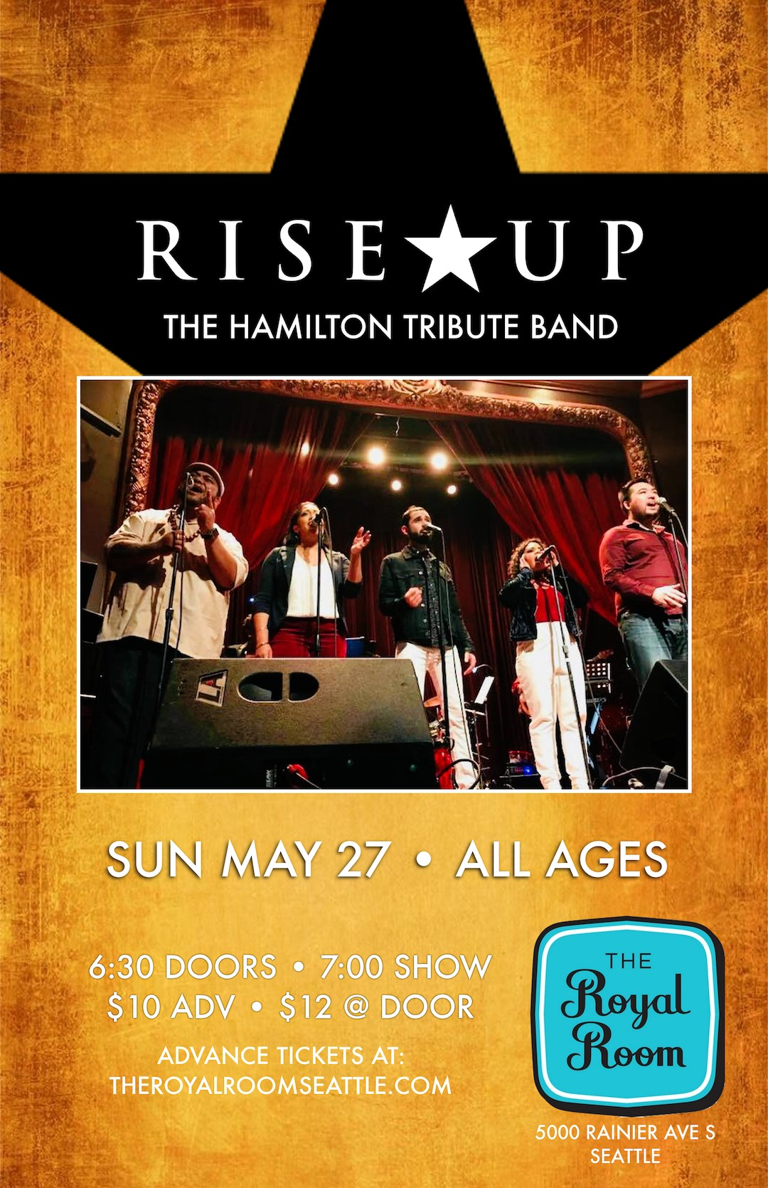 Rise Up A Tribute To The Music Of Hamilton Tickets