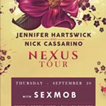 Sexmob+plays+Maciste+in+Hell+//+Jennifer+Hartswick+%26+Nick+Cassarino+Duo+//+Sexmob